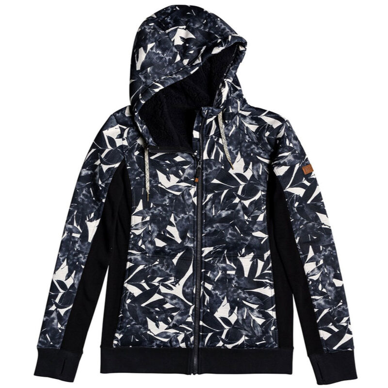 Roxy Frost Technical Zip-Up Hoodie Womens image number 0