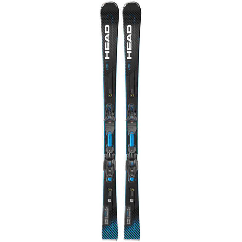 Head Supershape E-Titan Skis with PRD12 GW Bindings Mens image number 0