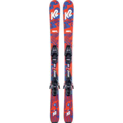 K2 Indy Skis with 4.5 Binding Kids