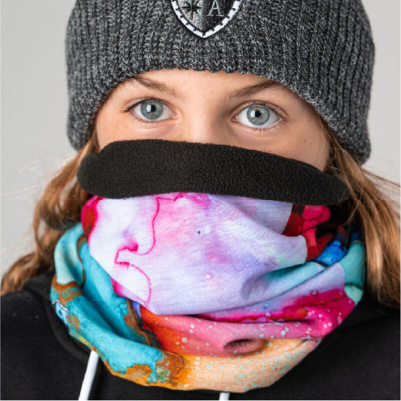 SA Company Frost Tech Fleece Lined Face Shield Kids image number 1