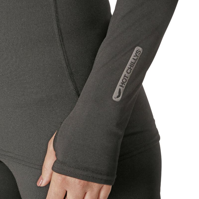 Hot Chillys Micro-Elite Chamois Crewneck Womens image number 1