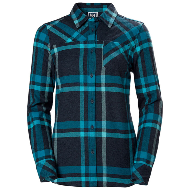 Helly Hansen Classic Check Long Sleeve Shirt Womens image number 0