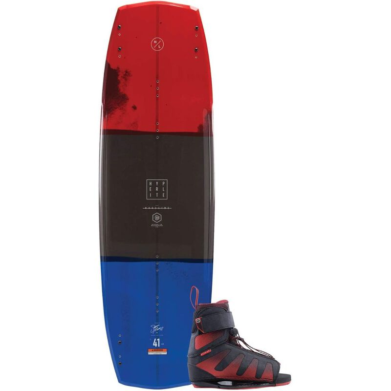 Hyperlite Baseline Wakeboard with Session Boots image number 0