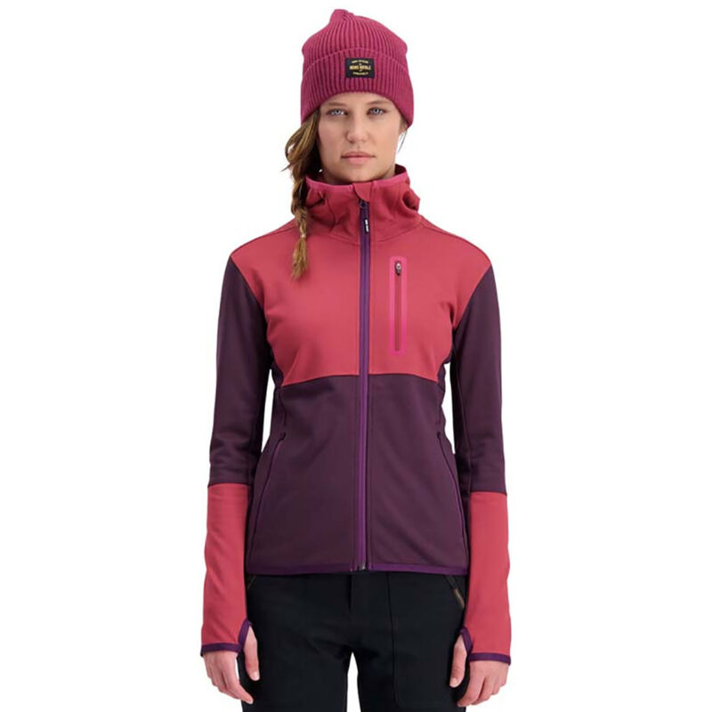 Mons Royale Approach Tech Mid Hoody Womens image number 2
