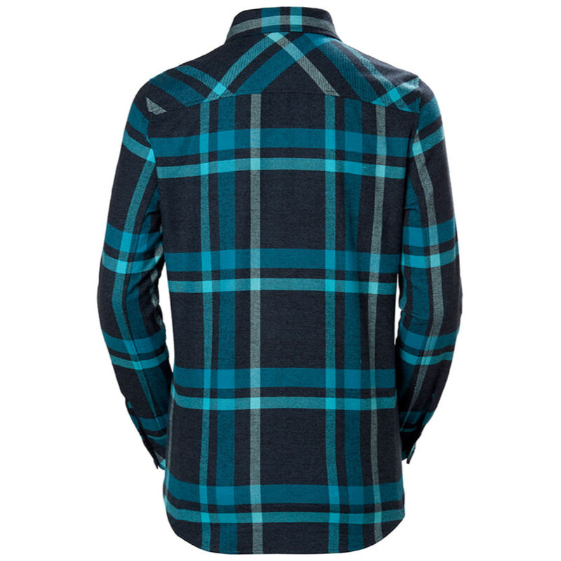 Helly Hansen Classic Check Long Sleeve Shirt Womens image number 1