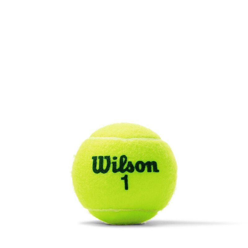 Wilson US Open Green Tournament Transition Tennis Balls 1 Can image number 1