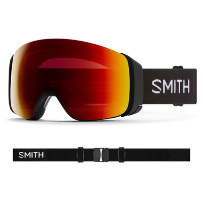 Smith 4D Mag Goggles + Sun Red Lens