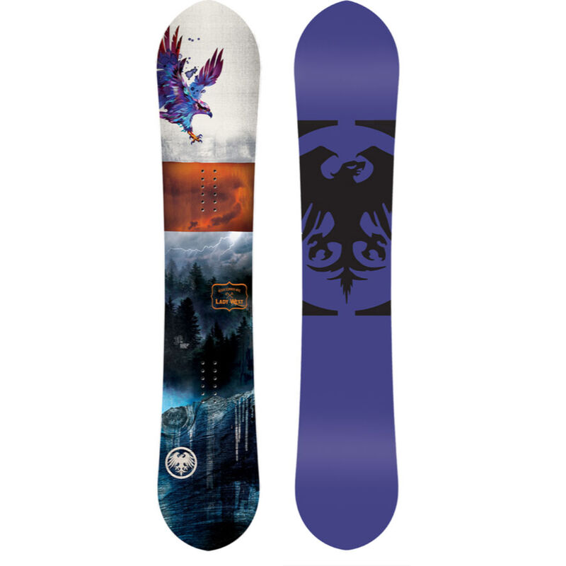 Never Summer Lady West Snowboard Womens image number 0
