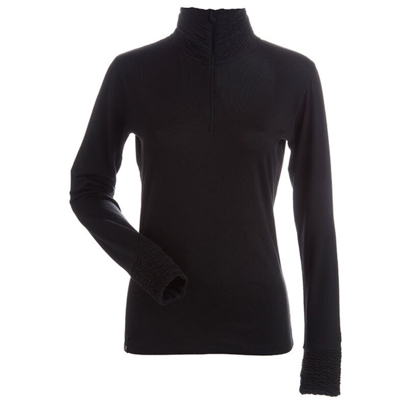 Nils Holly Zip T-Neck Womens image number 0